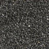 35 stuks! Basalt split zwart 8/11 mm 20 kg Gardenlux