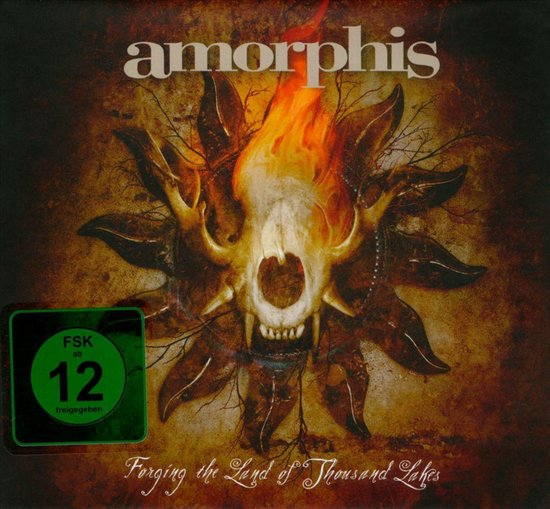 Cover van de film 'Amorphis - Forging The Land Of Thousand Lakes'
