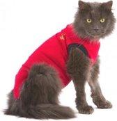 Medical Pet Shirt Kat - Rood - XXS