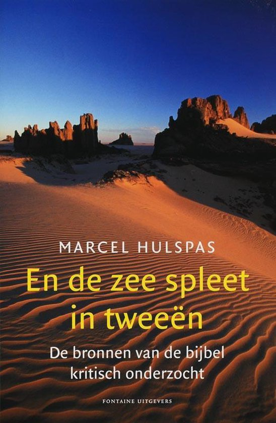 En de zee spleet in tweeën
