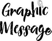 Graphic Message Dieren Tuinposters