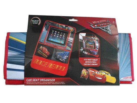 "Cars autostoel organiser + tablethouder (7/11"" - universeel)"