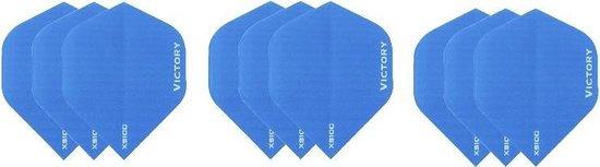 3 sets (9 stuks) Super Sterke Aqua Poly XS100 - flights - dartflights