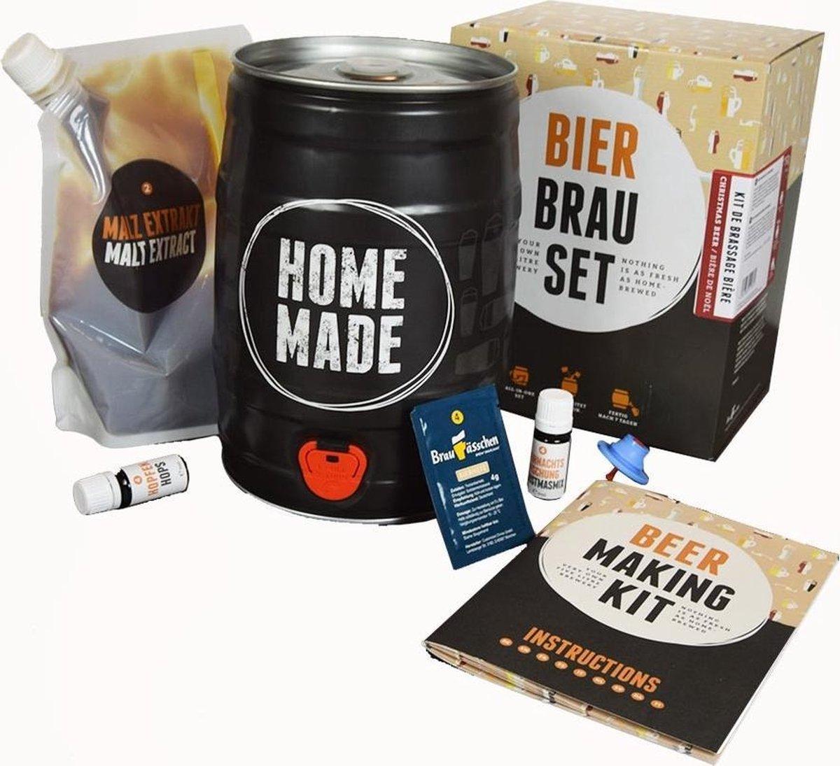 Brew Barrel - Bierbrouw pakket - Lager - Zelf thuis bierbrouwen - Met NL Handleiding!