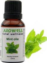 Arowell - Mint etherische olie - 15 ml (Lavandula Angustifolia) - geurolie - sauna opgiet
