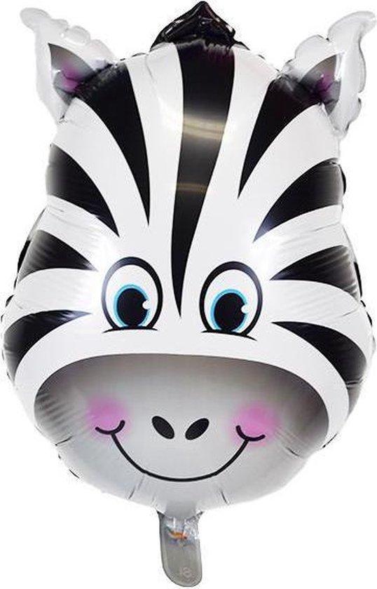 Folie helium ballon Zebra 92cm