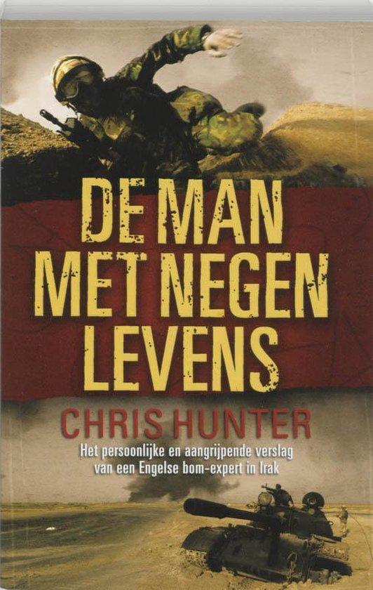 Cover van het boek 'De man met negen levens' van C Hunter