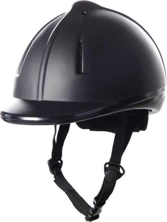 HKM Cap -Easy Plain- zwart 58-61cm