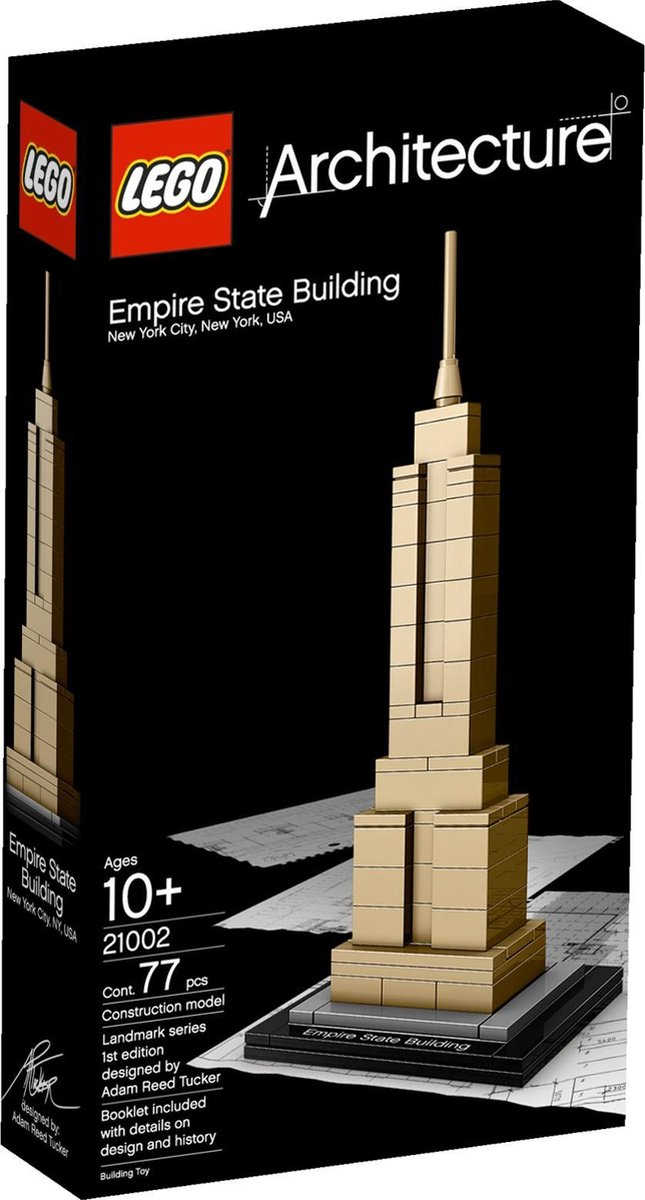 LEGO Architecture Landmark Empire State Building - 21002