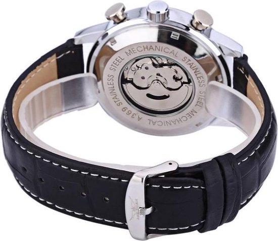 Jaragar Automaat Horloge F120603 Silver / Black - Jaragar