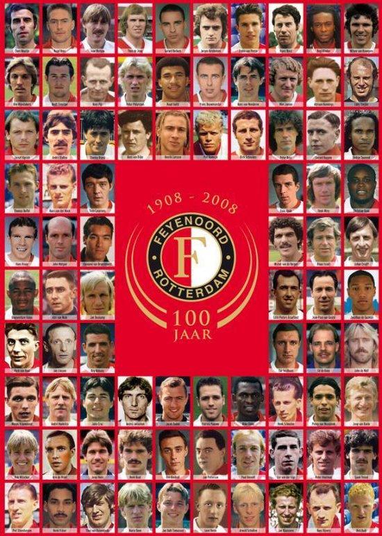 Cover van het boek '100 Jaar Feyenoord' van M. van Egmond