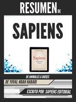 Omslag Resumen De ''Sapiens: De Animales A Dioses - De Yuval Noah Harari''