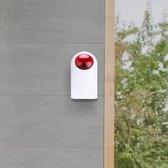 Extra sirene - Smart Home Beveiliging - Buiten Sirene - 110DB - Werkt met app - Alleen voor Smart Home Beveiliging