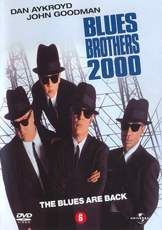 Cover van de film 'Blues Brothers 2000 - The Blues Are Back'