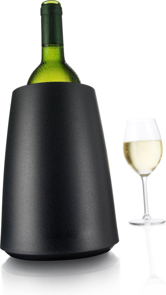 Vacu Vin Rapid Ice Wijnkoeler - Kunststof - Zwart