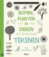 Bomen,planten,dieren uit de natuur tekenen