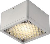 SLV SKALUX COMP plafondlamp CL-1 Downlight Opbouw  1x187W Grijs Chroom 162634