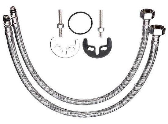 Keukenkraan GALAXY – Hoge Uitloop – Moderne Spoelbak Kraan – Keuken Kraan ZWART met PUNTJES - 3 JAAR GARANTIE - Merkloos
