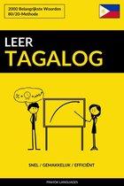 Leer Tagalog: Snel / Gemakkelijk / Efficiënt: 2000 Belangrijkste Woorden