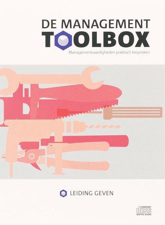 Cover van het boek 'De Management Toolbox / Leidinggeven' van M. van Zanten en Ronald Buitenhuis