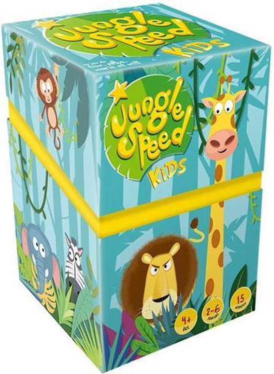 Jungle Speed Kids - Kaartspel