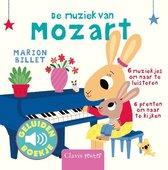 Boek cover De muziek van Mozart (geluidenboekje) van Marion Billet (Onbekend)
