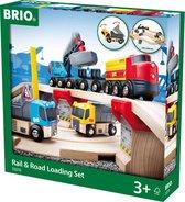 BRIO Spoor en weg transportset - 33210