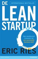 Boek cover De lean startup van Eric Ries (Onbekend)