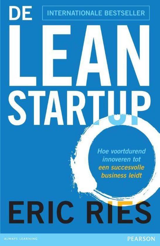 Afbeelding van De lean startup