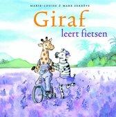 Giraf 3 -   Giraf leert fietsen