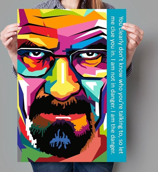 Poster Pop Art Breaking Bad - 50x70cm