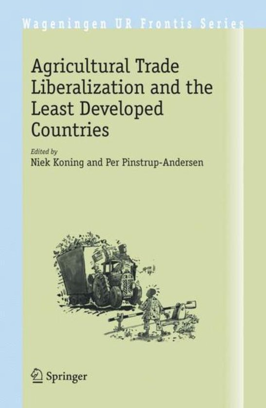 Boek cover Agricultural Trade Liberalization and the Least Developed Countries van Pamelia S. Phillips (Hardcover)