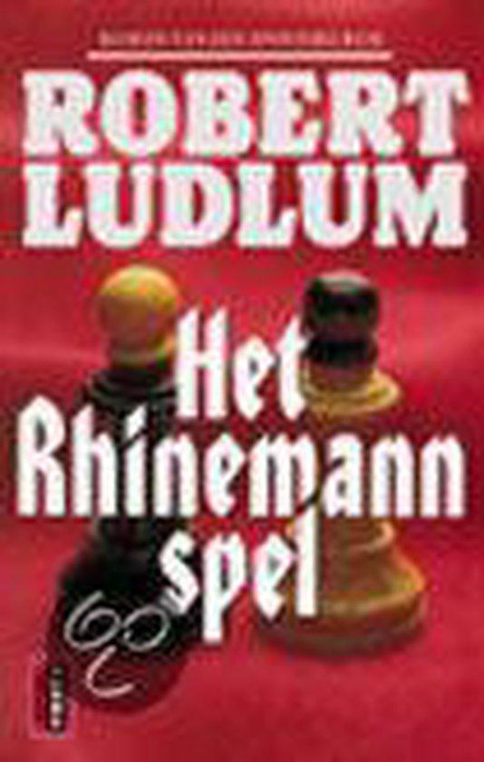 Het Rhinemann Spel - Robert Ludlum |