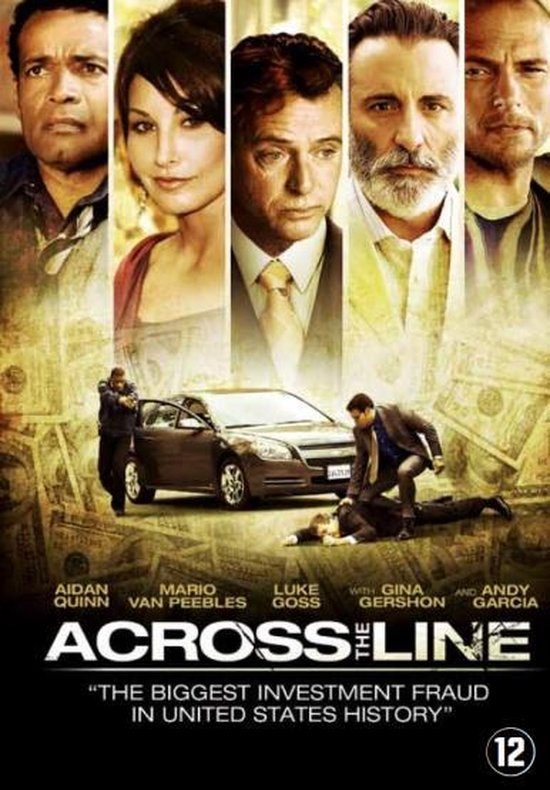 Cover van de film 'Across The Line'