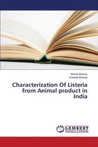 Characterization of Listeria from Animal Product in India