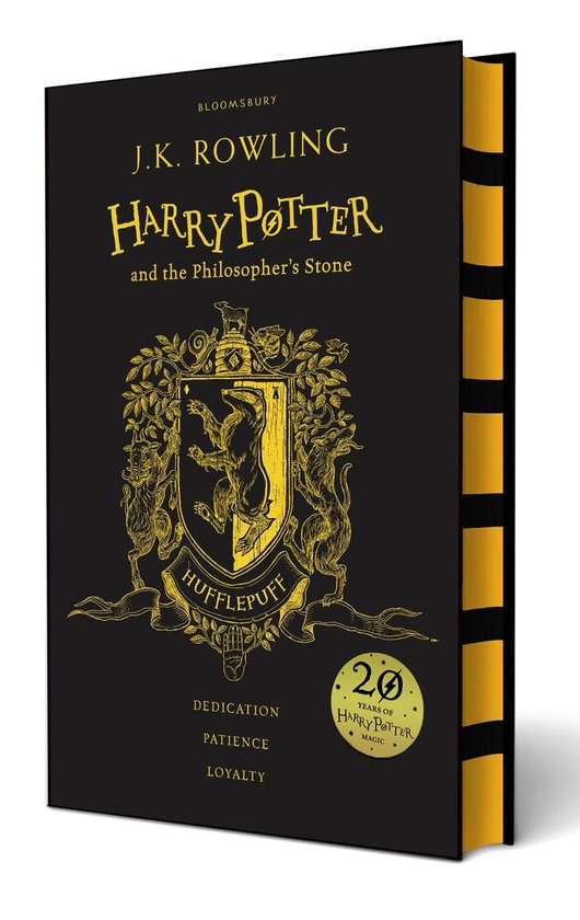 Harry Potter 1 - Harry Potter and the Philosopher's Stone |Hufflepuff Edition
