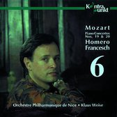 Mozart: Piano Concertos Vol 6 - Nos. 19, 20 / Francesch