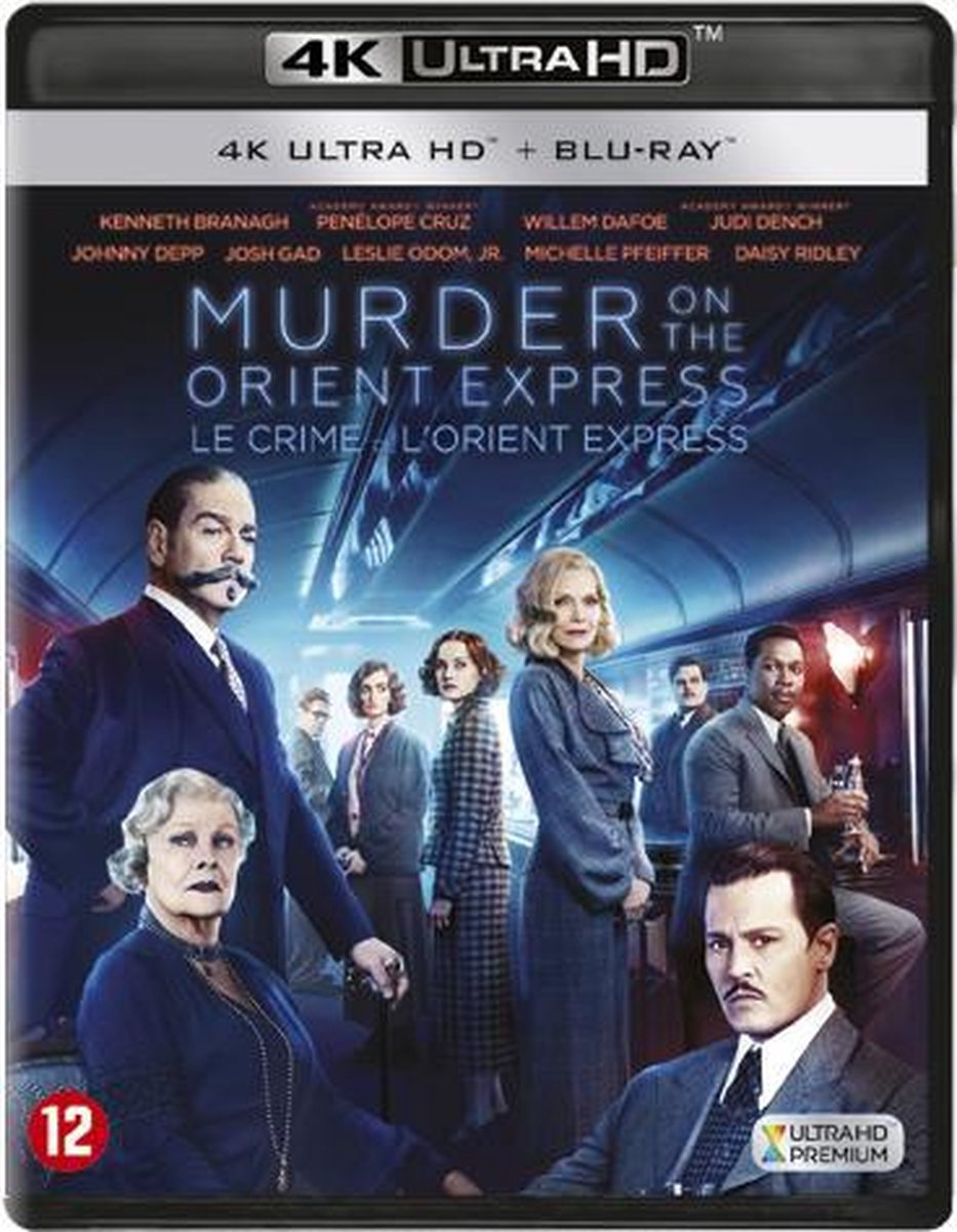 Murder on the Orient Express (4K Ultra HD Blu-ray)-