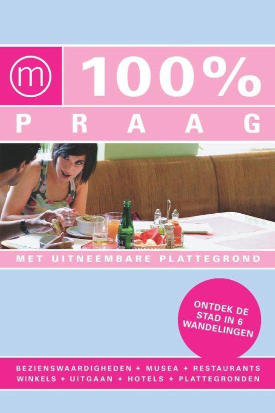 Cover van het boek '100% Praag' van Mathilde Verbaas