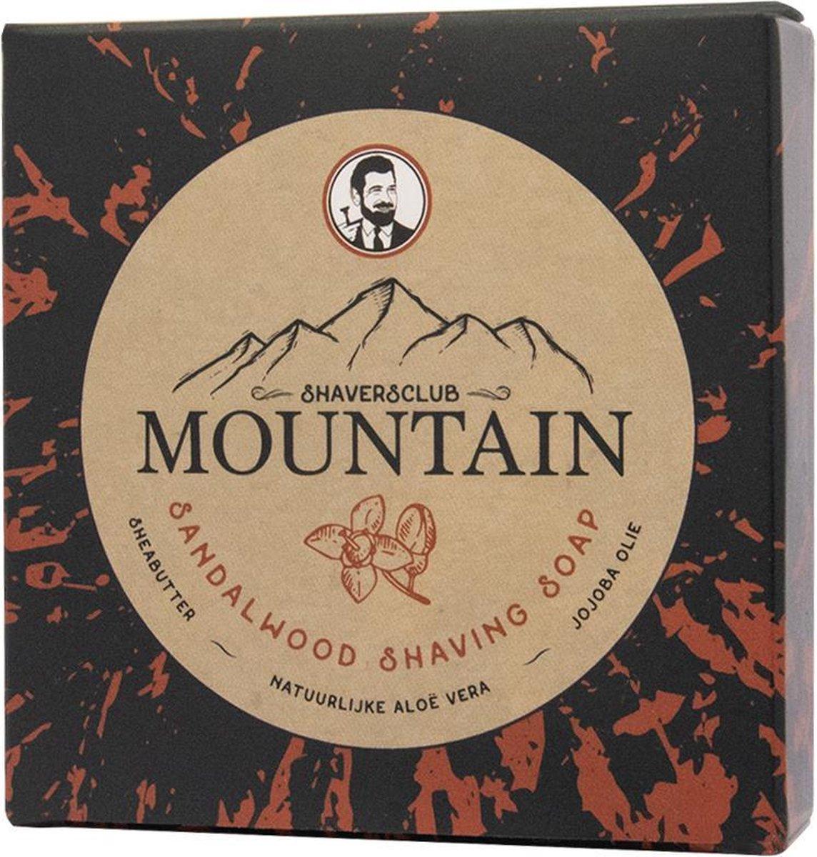 ShaversClub - Mountain Sandalwood Scheerzeep - ShaversClub