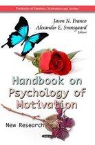 Handbook on Psychology of Motivation