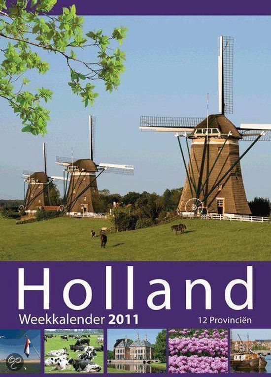 Cover van het boek '12 provinciën weeknotitie kalender'