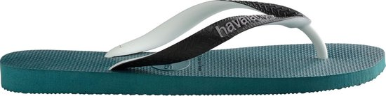Havaianas Top Mix Slippers Unisex - Grey/Turquoise - Havaianas
