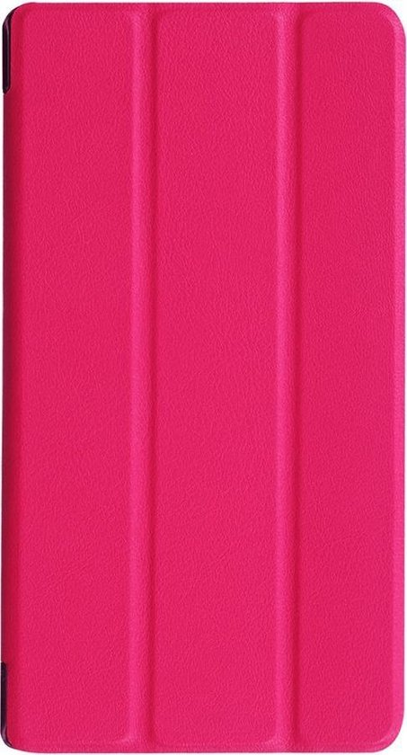 Shop4 - Lenovo Tab 3 7 Essential Hoes - Smart Cover Roze