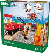 BRIO Treinset bij de brandweer - 33815