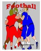 Football Composition Book
