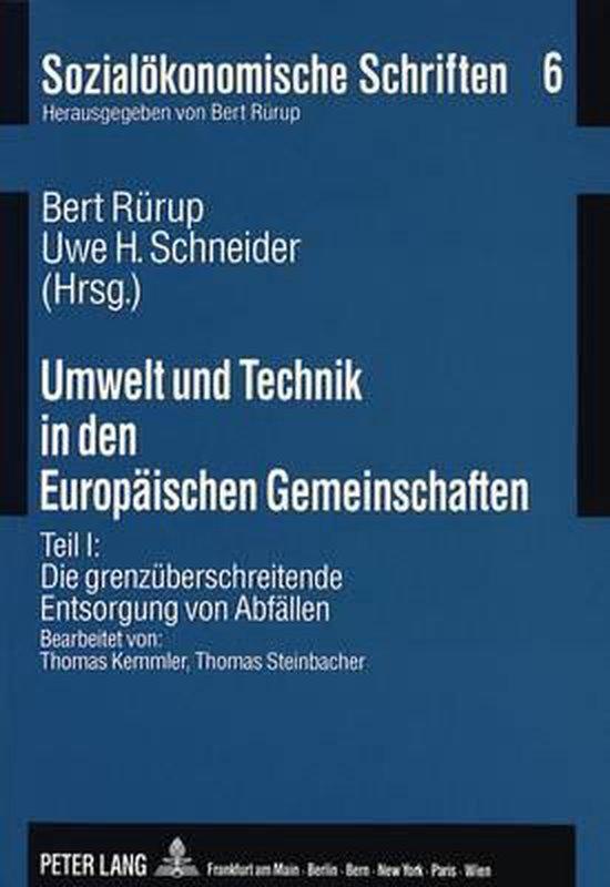 Umwelt Und Technik in Den Europaeischen Gemeinschaften