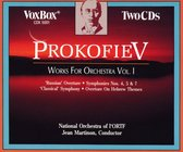 Prokofiev Works For Orchestra 1