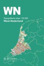 Afbeelding van Topografische Atlas Nederland  -   Topografische Atlas 1:50.000 West-Nederland