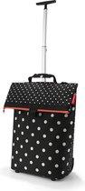 Reisenthel Trolley M Boodschappentrolley - 43L - Mixed Dots Zwart